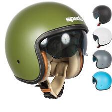 Spada Raze Open Face Motorcycle Helmet Motorbike Bike Crash Tinted Visor Lid