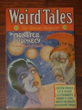 Weird Tales January 1932 The Monster of the Prophecy, Clark Smith, Carl Jacobi