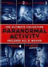Paranormal Activity: 5 Movie Collection (DVD, 2015, 5-Disc Set)