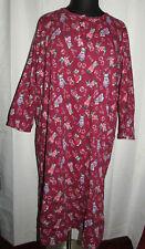Dreams & Co dog print long sleeve cotton nightgown, Plus size 1X/2X