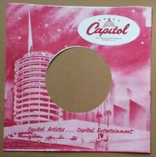 CAPITAL REPRODUCTION RECORD SLEEVE PACK OF 10
