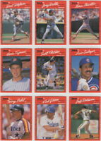 1990 Donruss Baseball Team Sets **Pick Your Team**