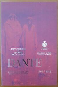 San Marino 2015. 2 Euro Commemorativo 750 Anni Nascita Dante Alighieri .