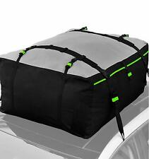 Weatherproof Extra Large Car Roof Bag Top Cargo Carrier Storage No Rack Needed