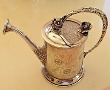 365 GR.STERLING SILVER CENTERPIECE FLOWERS WATERING CAN & PITCHER !