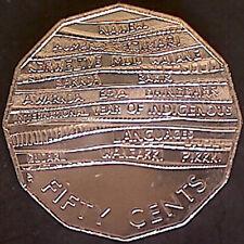 ** 2014 Australian 50c /'AIATSIS/' Speciman Grade Coin:Unc**
