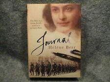 Journal Helene Berr 2008 Hardcover Book MacLehose Press ISBN 978-1-84724-574-8