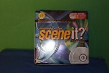 Scene It Deluxe Movie Edition The DVD Board Game Tin Box Trivia