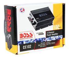 New Boss CE102 100 Watt 2-Channel Mini High Power Amplifier Car Motorcycle Amp