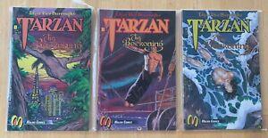 Tarzan: The Beckoning #'s 1 through 7 1992 Complete Malibu Comics Set ML6-39