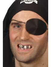 Black Tooth Wax Make Up Pirate Toothless Halloween Fancy Dress