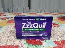 Zzzquil nighttime sleep aid EXP 10/2021