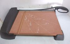 """X-ACTO Wooden Paper Cutter 15"""" x 11"""" Guillotine Style Trimmer Crafts Scrapbook"""