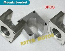 NEW 3 SET Nema23 Stepper Motor Bracket Aluminum Mount CNC Plasma Cutter Block