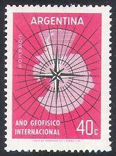 Argentina 1958 International Geophysical Year/Antarctic/Map/IGY 1v (n24213)