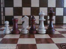 Nuevo ♚ ponderada Staunton N ° 6 De Madera, Piezas de ajedrez ♞