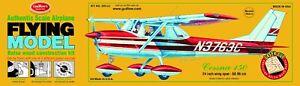 GUILLOW'S CESSNA 150 BALSA WOOD MODEL AIRPLANE KIT, Classic Aviation  GUI-309