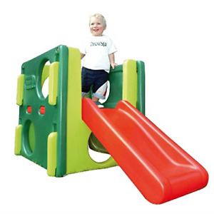 Little Tikes Junior Activity Gym. Climb, Crawl and Slide, Durable Garden Toy for