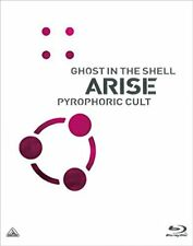 GHOST IN THE SHELL ARISE PYROPHORIC CULT Blu-ray Booklet English Subtitles Japan