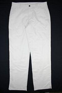 Adidas Climalite Men's Tech Tour Golf Pants Light Beige/Cream 34x34