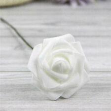 50pcs пены искусственные цветы поддельные розы букет невесты вечеринка свадьба домашний декор