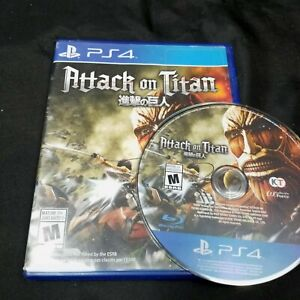 Attack on Titan (Sony PlayStation 4, 2016) PS4