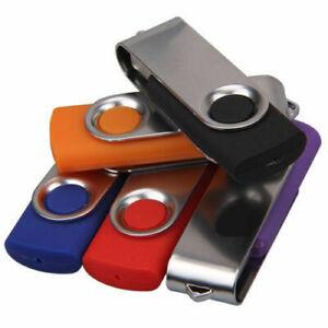 wholesale/lot/bulk 5pcs usb flash drive memory stick thumb jump pen u disk fold