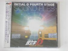 NEW Initial D Fourth Stage Sound Files 1 CD OST Original Soundtrack Music 4th 4