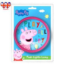 Peppa Pig LED Push Light Lamp,Bedroom Night Light,Official Licenced
