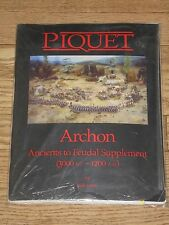 PIQUET: Archon, Ancients to Feudal Supplement (by Bob Jones)