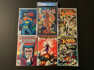 Grab Bag/Chase New Mutants 98, Batman Adv 12 (Read Description)