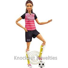 Barbie Made To Move Soccer Player Toy Doll Play Fun Pretend