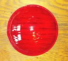 Red Lens for Warning Light Fire Truck, Police, Ambulance Plastic New Condition