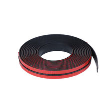 Car Sticker Sill Strip Windshield Roof Seal Strip Noise Insulation Rubber 2cmx2m