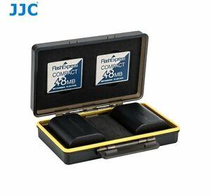 JJC BC-3CF2 Battery Case 2x Battery CF for Canon LP-E6, LP-E17 Fujifilm NP-W126