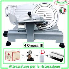 Affettatrice Elettrica 195 GL Lusso RGV + Affilatoio + Copertura + Pinza + Olio