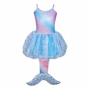Mystic Mermaid Fairy Princess dress Size 5/6 Costume Dress Up