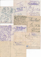 Marine Feldpost  Zweigkompanie Maschinenhulk 11 Feldpostkarten  WW1 Militär (128