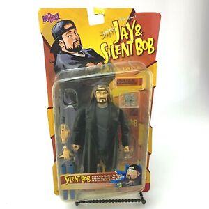 1998 Vintage View Askew Jay & Silent Bob | Talking Silent Bob Action Figure NIB