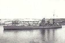 rp16757 - Royal Navy Warship - HMS Nelson , built 1927 - photo 6x4