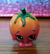Shopkins Season 3 #84 CHERIE TOMATOE Red Orange Rare Mint OOP