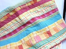 Pair of Patchwork Quilt Standard Pillow Sham Covers 25x19