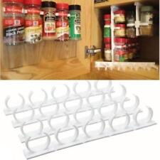 20 Cabinet SpiceStor Organizer Jar Rack Door Spice Clips Home/Kitchen Useful NEW