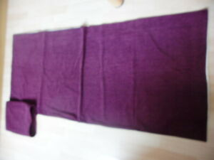 """2 New Fabric Burgendy Runners for Beds/ Tables 28""""/ 64"""""""