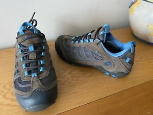 Hi-Tec Penrith low top leather suede hiking walking trainers,UK size 5, EUR 38