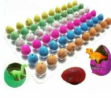 Educational Dinosaur Eggs Gag Cute Magic Hatching Growing Animal Toy Gift 10 Pcs