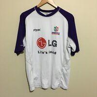 Fremantle Dockers 2007 Official AFL Training Shirt Reebok Mens Medium