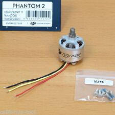 DJI Phantom 2/2 Vision+ Part P2-11 2312 Motor (CCW) OEM -US stock