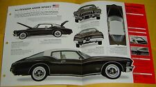 1972 73 1971 Buick Riviera GS Grand Gran Sport 455 ci IMP Info/Specs/photo 15x9