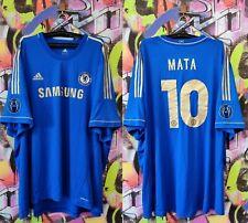CHELSEA London Juan Mata Football Soccer Shirt Jersey Training Top Mens size 6XL